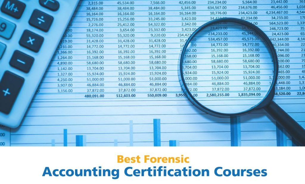 Forensic accounting certification courses